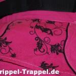 Manduca Jardin Noir pink