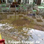 Moritzhof unter Wasser