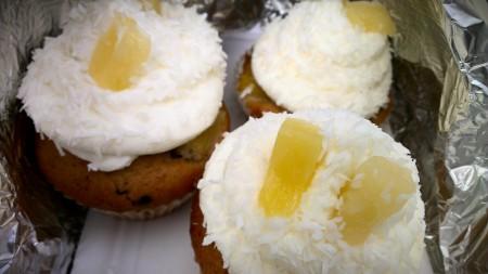 Fernweh-Cupcake